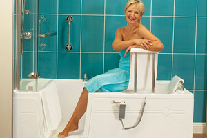 Nationwide Mobility Walk in Bath Shower Baths Bathing Aids