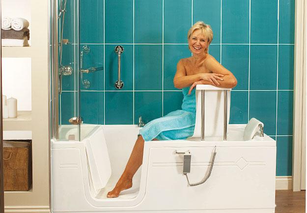 Walk in bathtub, bath tubs, Walk-in bathtub shower - photo#41
